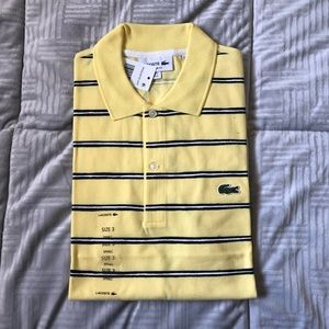 Lacoste small regular fit polo